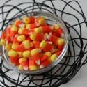 halloween yarn web bowl