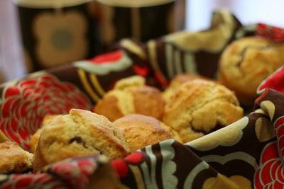 Rick's Rich Jam Muffins | Pretty Prudent