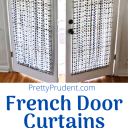 French Door Curtains Sewing Tutorial