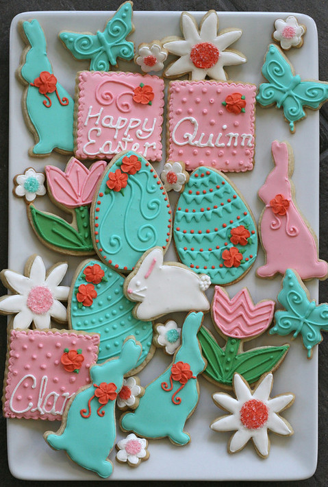 Decorating Royal Icing Sugar Cookies