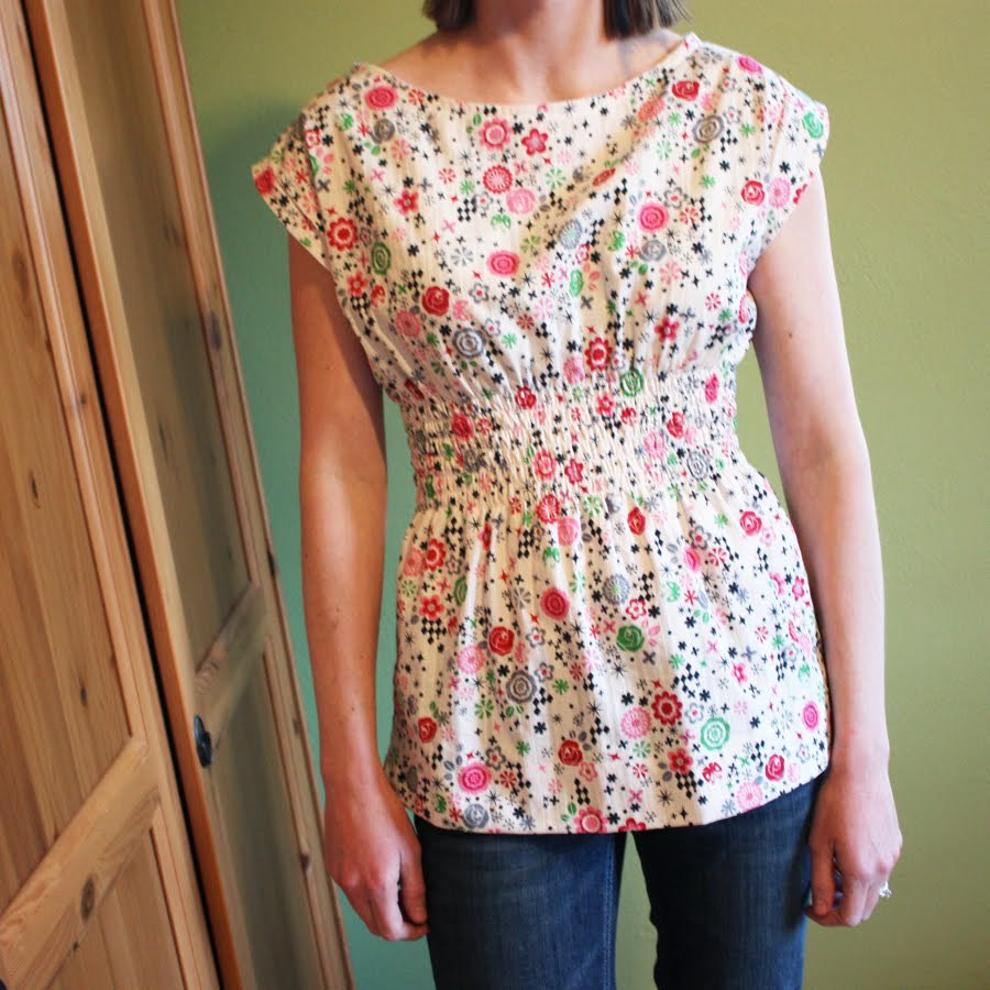How to Sew a Flattering shirt
