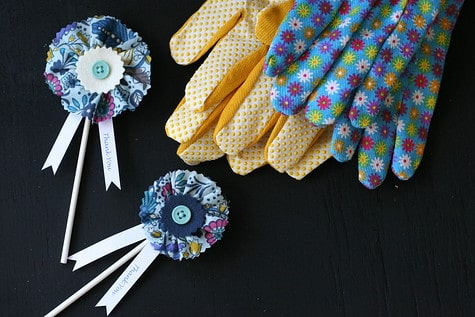 Quinn's Farm-tastic First Birthday: The multi-use DIY hair clip!