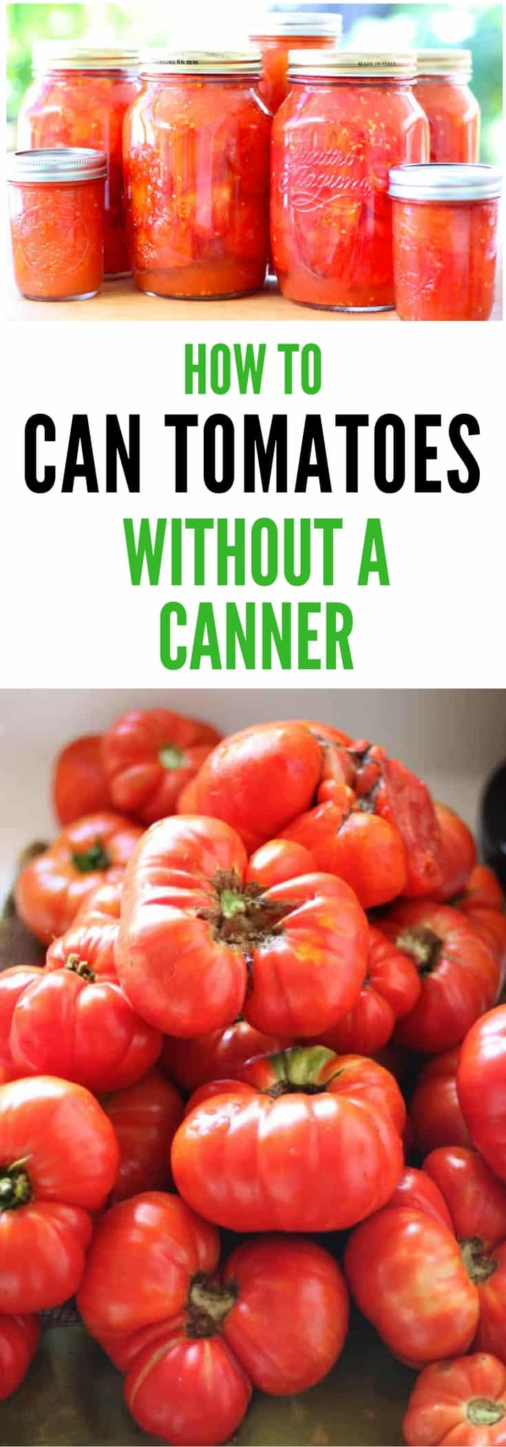 Image of canned tomatoes