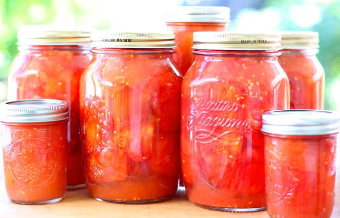 How To Can Tomatoes Without A Canner Pretty Prudent