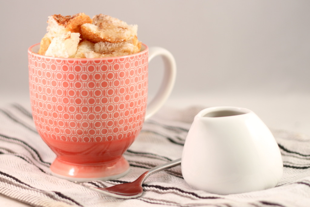 352ab9510bd 2-Minute French Toast in a Cup microwave single-serving dessert recipe