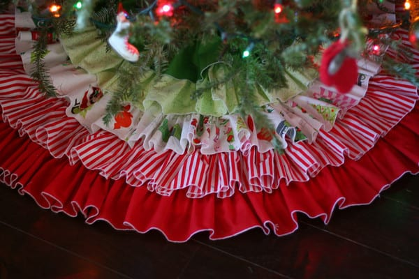 Ruffled Tree Skirt | Pretty Prudent