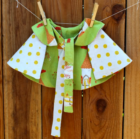 How to Sew a Capelet, with Pattern! | Pretty Prudent
