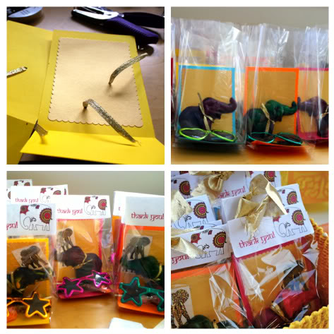 how to assemble party favor bags pretty prudent