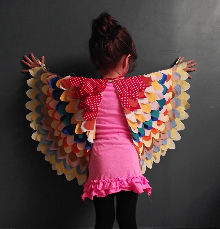How to make beautiful dress up wings pretty prudent how to make beautiful dress up wings solutioingenieria Images