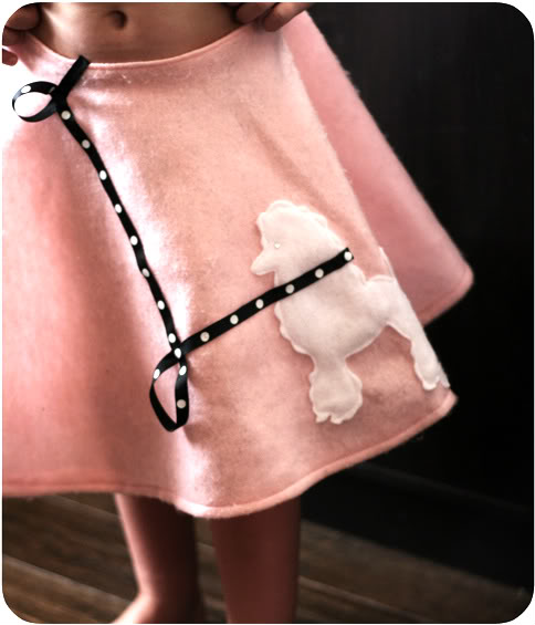 DIY Poodle Skirt Easy Poodle Skirt Tutorial