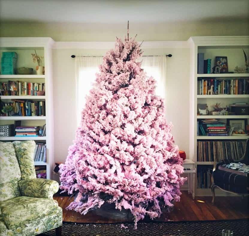 Pink and purple christmas tree decorations - I M Dreaming Of A Pink Christmas Pretty Prudent