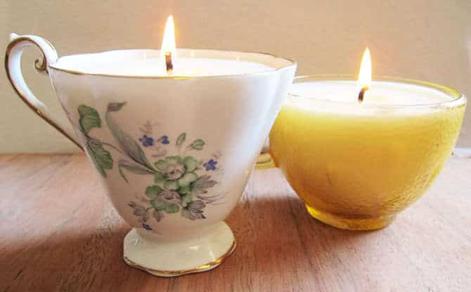 Find Out How To Make Tea Cup Candles After The Jumpu2026