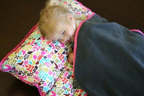 Diy Nap Mat Bed Roll Pretty Prudent
