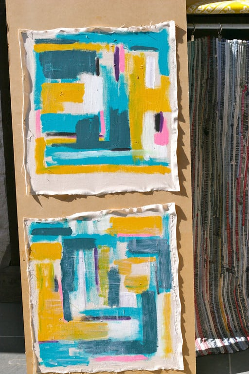 How to Make Painted Cushions ⋆ Pretty Prudent