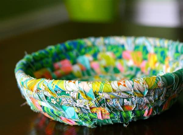 Scrap Busting Fabric Bowl Pretty Prudent