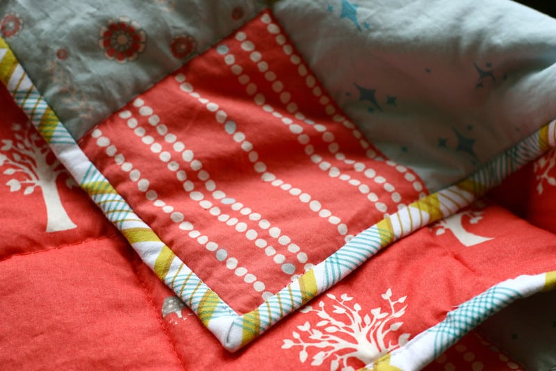 Machine Quilt Binding 101 + Quilt Binding DIY | Pretty Prudent : how to sew a quilt binding - Adamdwight.com