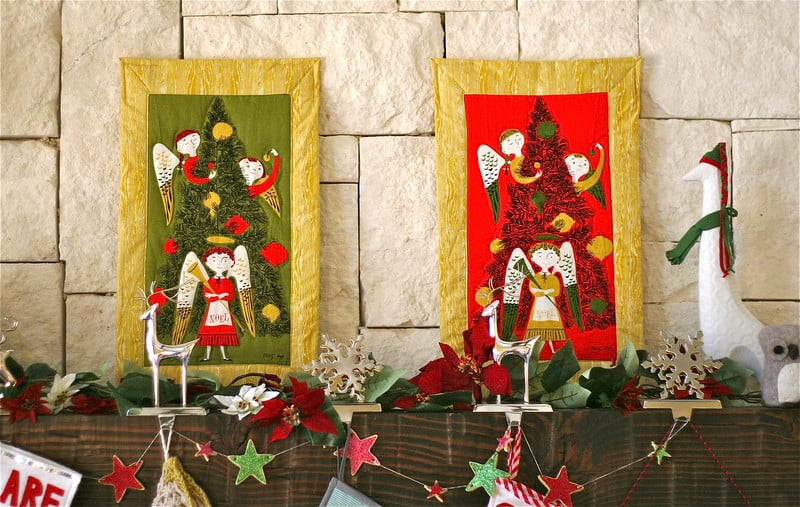 Christmas Wall Hangings tammis keefe quilted christmas wall hangings | pretty prudent