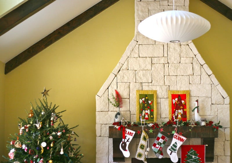 Tammis Keefe Quilted Christmas Wall Hangings | Pretty Prudent
