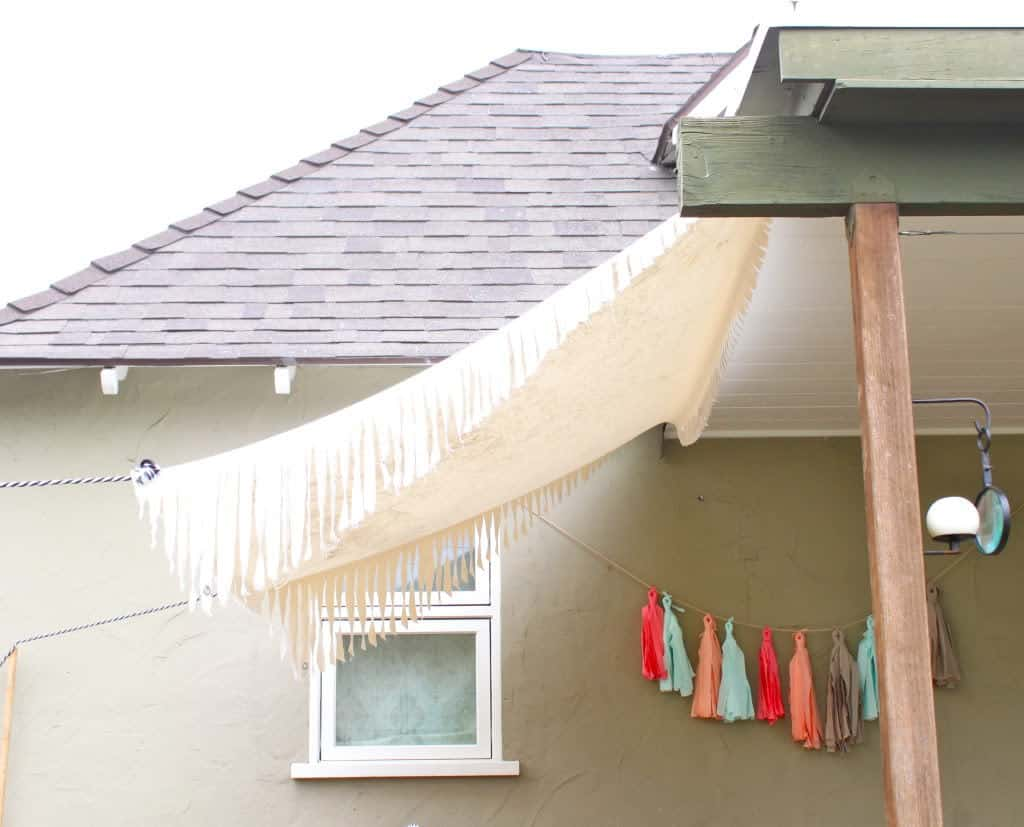 How To Make A Simple Canvas Awning Pretty Prudent