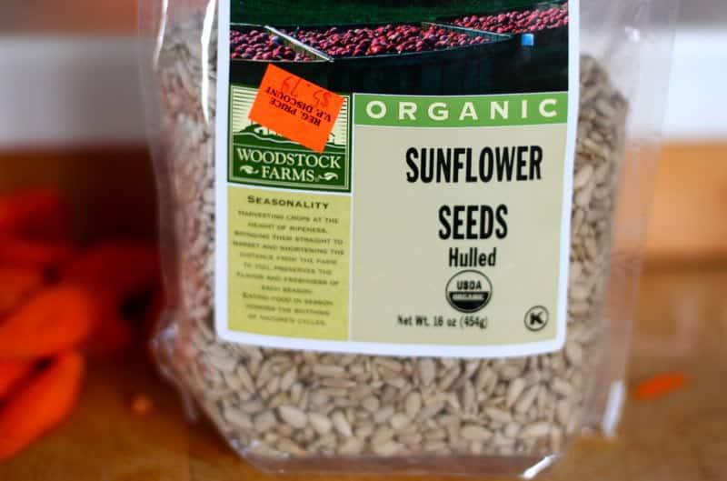 image of sunflower seeds