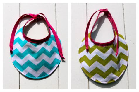 New Reversible Baby Bib With Free Pattern Download Pretty Prudent