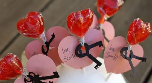 save - Valentine Lollipops