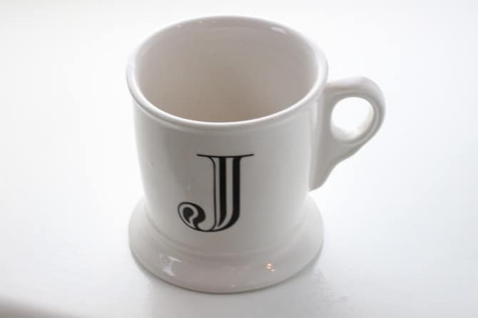 the cup  use a small one  A Cup
