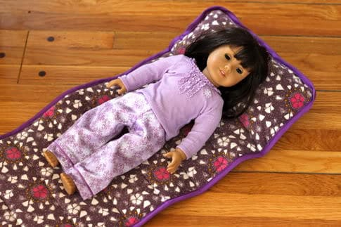Diy Nap Mat Part 3 Doll Version