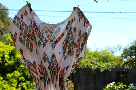 The Most Flattering Shirt Dress DIY | Pretty Prudent