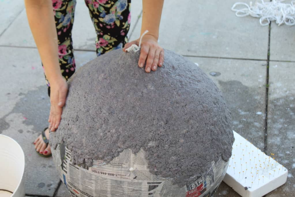 how to make paper pulp art