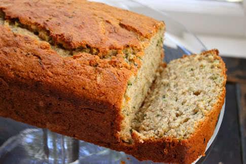 A Healthier Zucchini Bread Recipe Made With Whole Wheat Flour