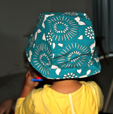 Reversible 40 s Inspired Sun Cap with Free Pattern  f8ed044b2df