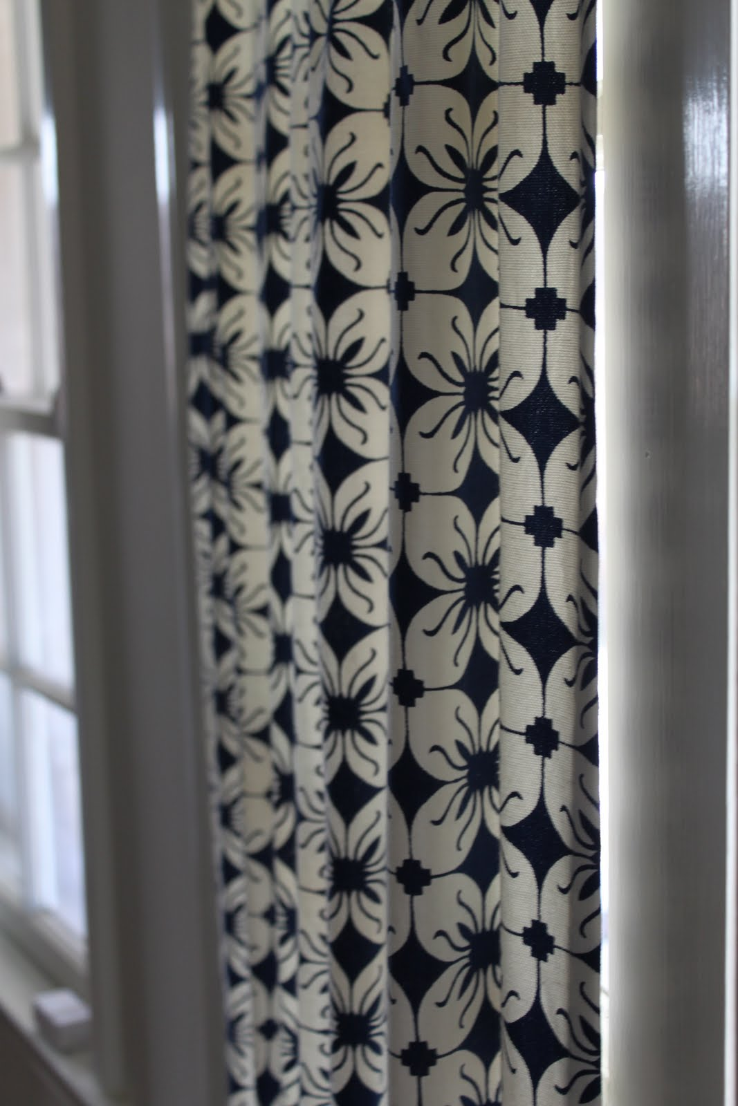 Diy French Door Curtain Panel Tutorial Before After Pretty Prudent