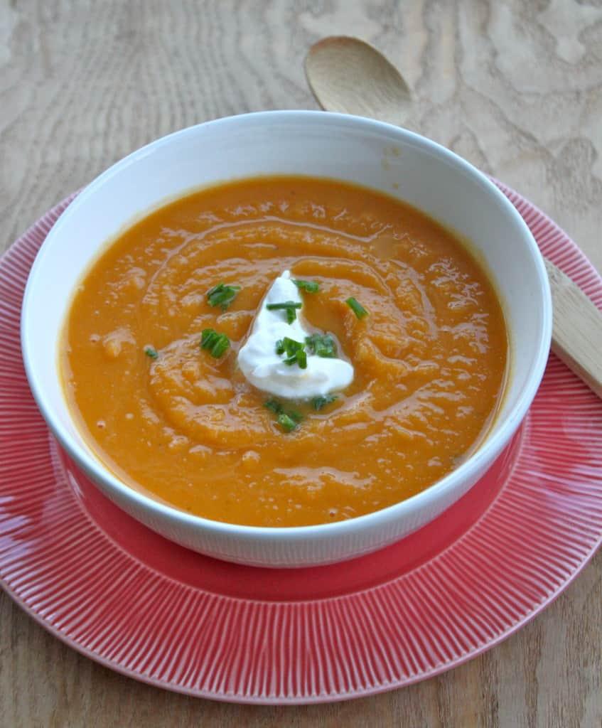 Butternut Squash Soup: Easy Crock Pot Recipe