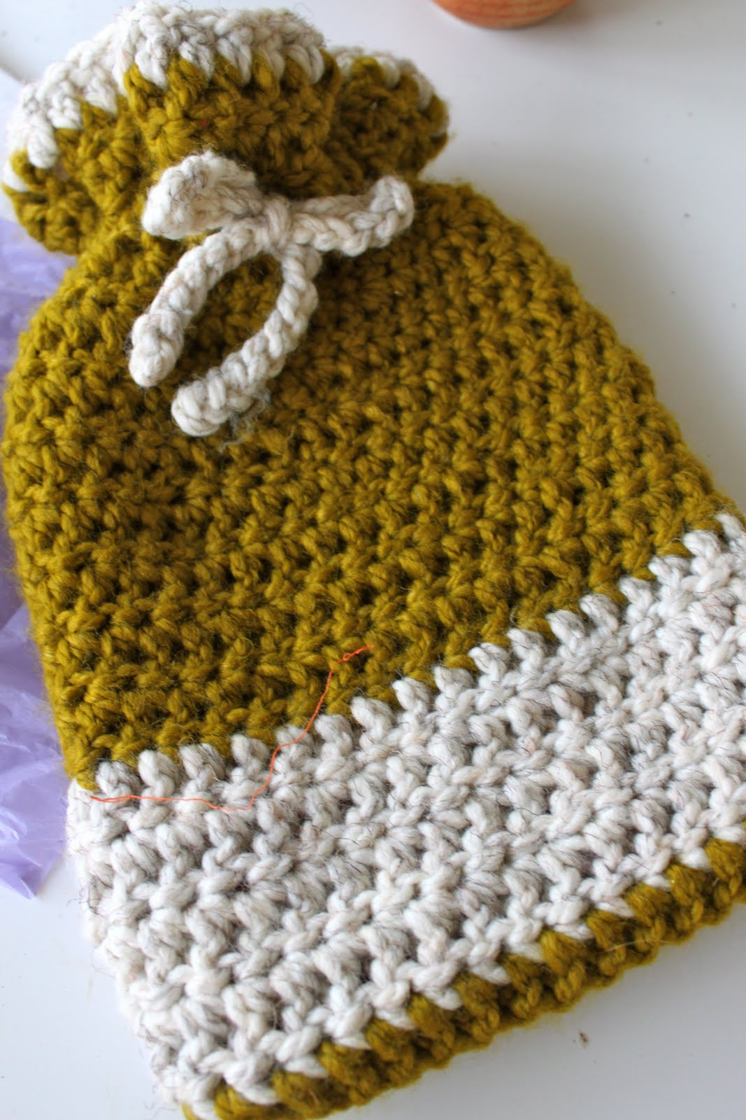Crochet Hot Water Bottle Cozy Pretty Prudent