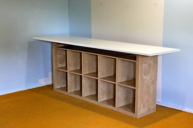 The Craft Room Redesign Project: DIY Sewing U0026 Cutting Tables   Pretty  Prudent