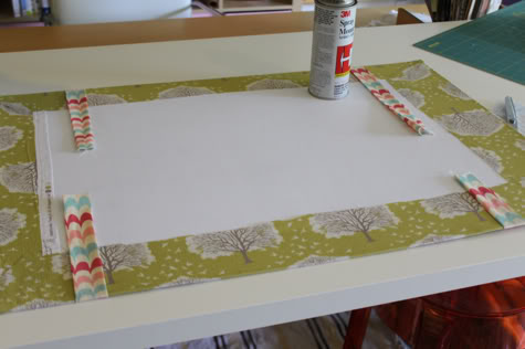 Diy Fabric Desk Pad Desk Blotter Pretty Prudent
