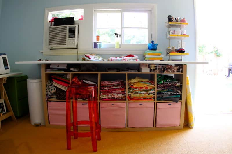 Diy Craft Room Table: The Craft Room Redesign Project: DIY Sewing & Cutting