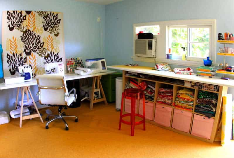 The Craft Room Redesign Project: DIY Sewing U0026 Cutting Tables