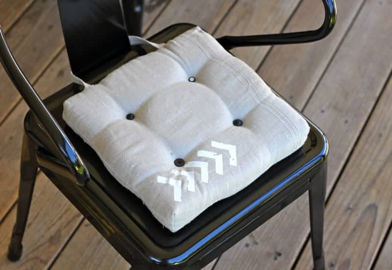 How To Make Dining Chair Cushions With Bonus Embellishment Goodness Part 39