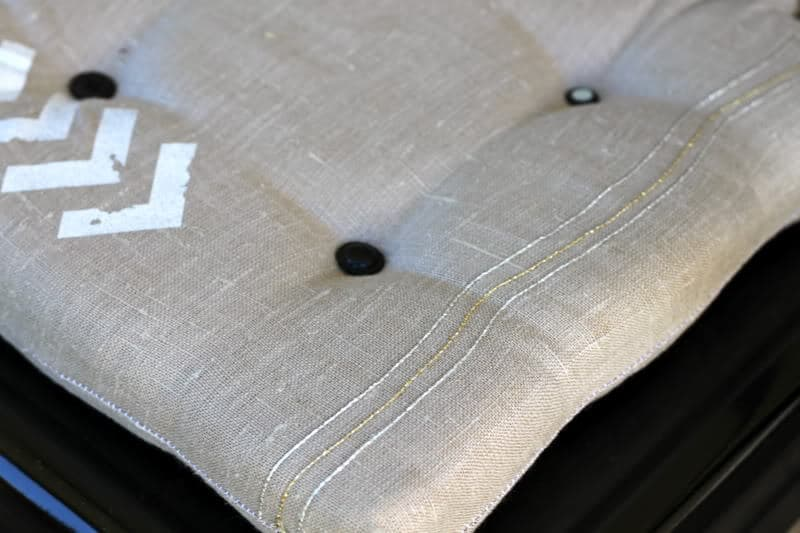 how to make dining chair cushions with bonus goodness