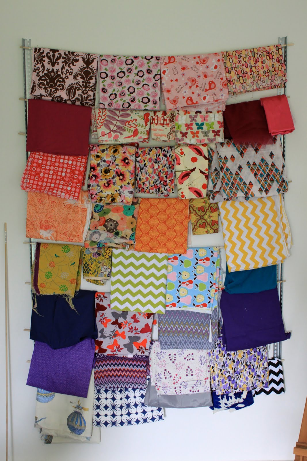 & DIY Fabric Storage | Pretty Prudent