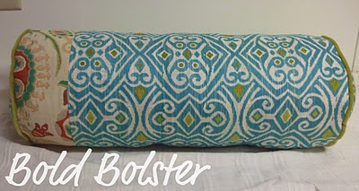 Bolster Pillow Cover Ideas: Beautiful Bolster Pillow Tutorial   Pretty Prudent,