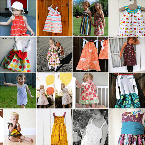 25 Free Baby Dress Tutorials