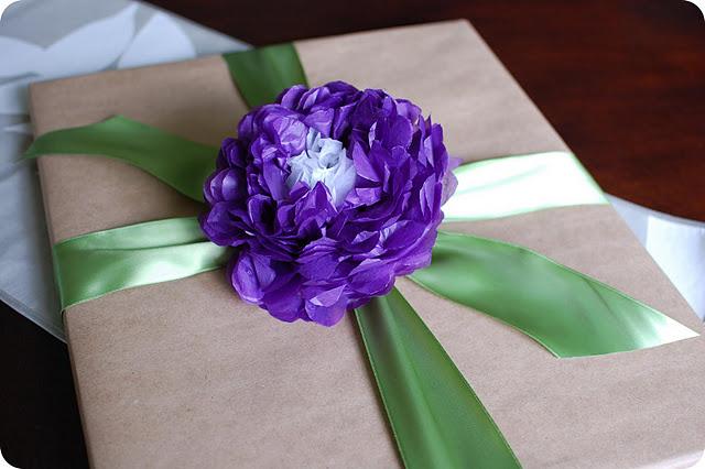Tissue Paper Flower Tutorial Pretty Prudent
