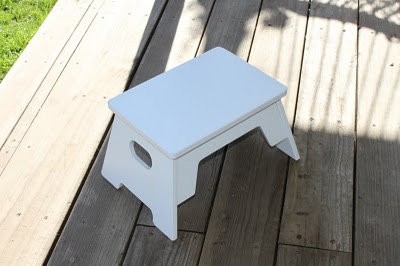 DIY Childrens Bathroom Step Stool