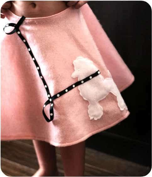 DIY Poodle Skirt Easy Tutorial