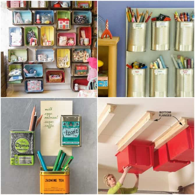 Get Organized 25 Totally Clever Storage Tips Tricks