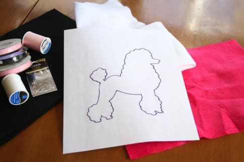 Last Minute Costume Easy Poodle Skirt