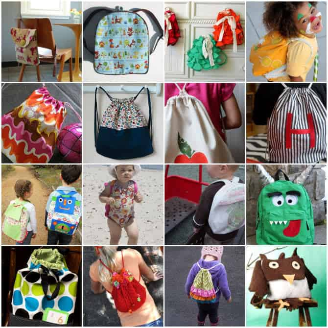 How to Make A Backpack: 30 Free Sewing Patterns for Adorable ...